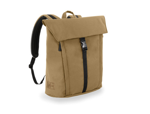 Bell Backpack with flap and 1 buckle